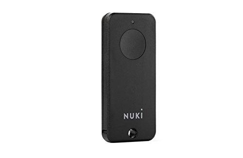 Nuki Fob, llavero Bluetooth, cerrar la puerta pulsando un botón, extensión smart para el Nuki Smart Lock, abrepuertas sin contacto, cerradura eléctrica, cerradura bluetooth, Nuki Smart Home