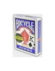 Bicycle Jumbo Poker İskambil Oyun Kartı (Blue)