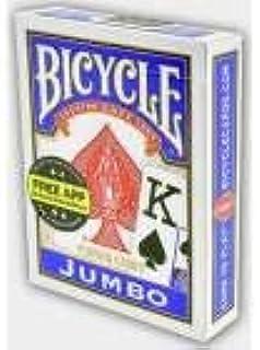 Bicycle Jumbo Poker İskambil Oyun Kartı (Blue)