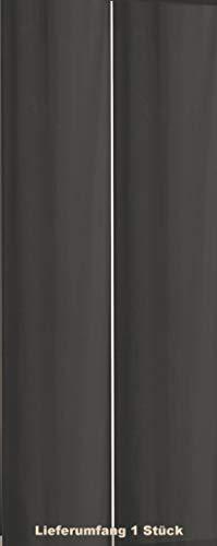 Schwar Textilien Flächenvorhang Schiebegardine Schiebevorhang Raumtrenner Vorhang Blickdicht 120 GSM in 8 Farben (grau)