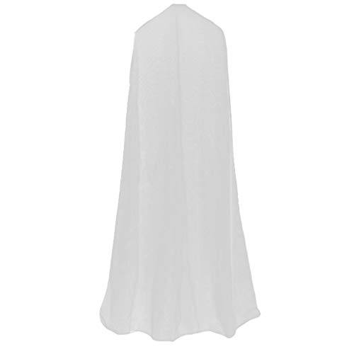 HomeDecTime Kleidersack Hochwertiger Kleidersäcke, Transparent Atmungsaktiver Stoff, für Anzüge Kleider Mäntel Sakkos Hemden - 1,6 m