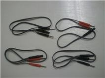 2 Pin Lead Wire Splitters - Bifurcating Wires = 4 Cables = 8 total pins
