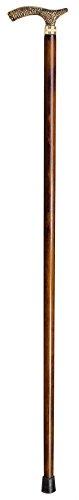 Novolife Nl-30016 Collection wandelstok van beukenhout, bronskleurig