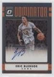 Eric Bledsoe #34/99 (Basketball Card) 2016-17 Panini Donruss Optic - Dominator Signatures #15