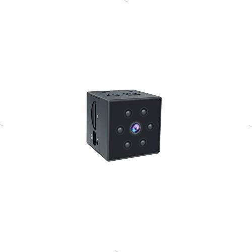 小型カメラ FULL HD高画質超小型隠しカメラ 赤外線 長い時間録画ミニスパイカメラ 内蔵バッテリー 携帯型防犯監視カメラ 動体検知 暗視機能 ペットカメラ 屋内屋外用 ループ録画機能 盗撮暗視カメラ日本語取扱