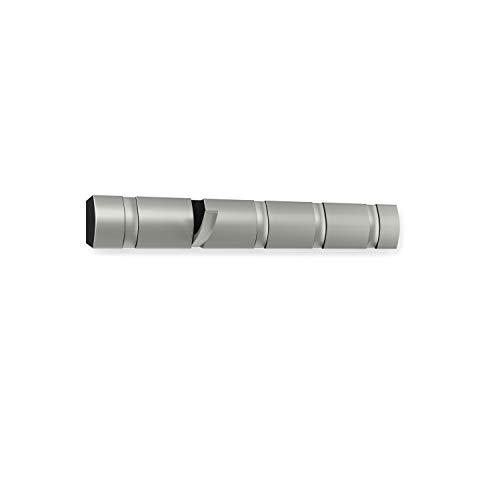 Umbra 318852-410 Percha de Pared Flip 5 Nickel,  Umbra 318852-410 Percha de Pared Flip 5 Nickel, 50,8 x 6,5 x 3,1 cm