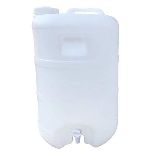 YATONG Depósito de Agua con Grifo Recipiente de Agua Autónomo, Cubo de Almacenamiento de Agua, con Grifo para Beber en el Hogar, Recipiente de Agua Portátil con Grifo para Acampar