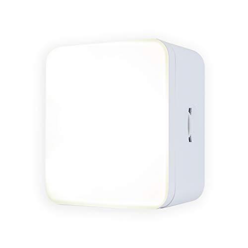 GE Luz nocturna LED regulable, enchufe, sensor de anochecer a amanecer, certificado UL, ideal para recámara, cuarto de bebé, baño,...