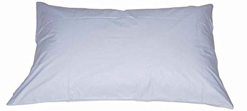 女将イルヒットダニブロック 枕カバー 43×80cm 防ダニピロケース 43 80 ブルー
