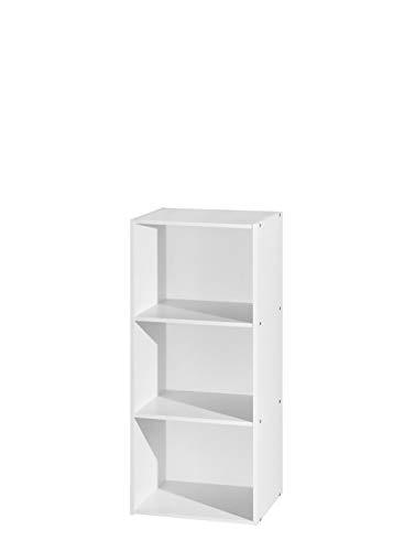 FIVEGIVEN Bookshelf 4 Tier Wood and Metal Book Shelves Industrial Storage Shelf Rustic Bookcase Sturdy Espresso,31.5L x11.8W x47.8H