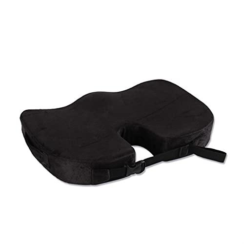 COCICEX Memoria Silla de Espuma de Espuma Ortopédica Almohadilla de Asiento de Oficina Hemorroide Tratar Asiento de Coche Cojín Grande Alivio Almohada Pillow