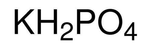 S3 Chemicals Kaliumdihydrogenphosphat (min. 99%, Lebensmittelqualität) Gebindegröße 250g