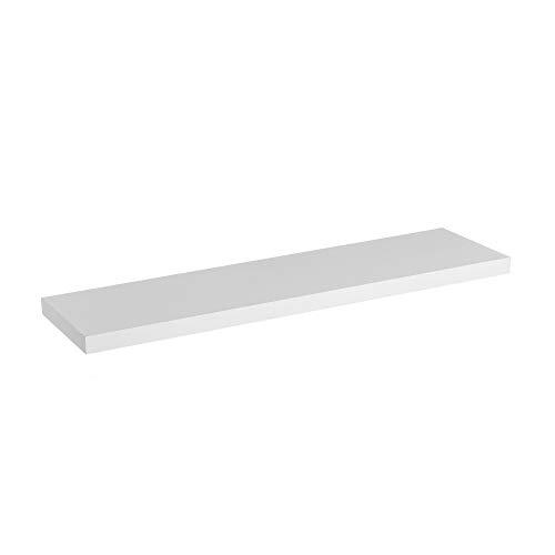 Estante de Pared de Madera MDF Blanco de 100 cm - LOLAhome