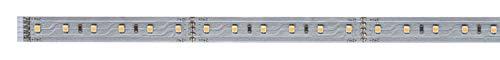 Paulmann 70581 MaxLED 500 Strip 1 m 2700 K Warmweiß LED Stripe unbeschichtet 7W Lichtband 550 lm Lichtstreifen 72 LED 24 V