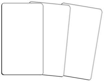 Terre Divinatoire Le Tarot Vierge - 80 Cartes aux Coins arrondis - créer et Dessiner Votre Propre Jeu de Carte de tarots ou Oracle de cartomancie