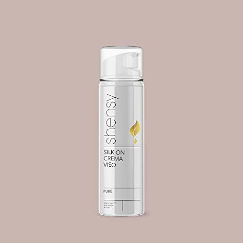 SHENSY Crema facial hidratante, 50 ml, Silk On, ácido hialurónico