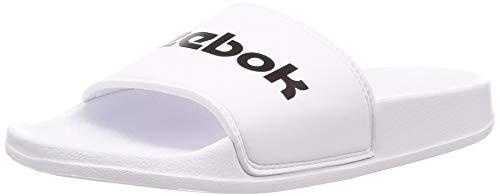 Reebok Unisex Kinder Classic Slide Dusch- & Badeschuhe, Weiß (RYL/White/Black RYL/White/Black), 34.5 EU