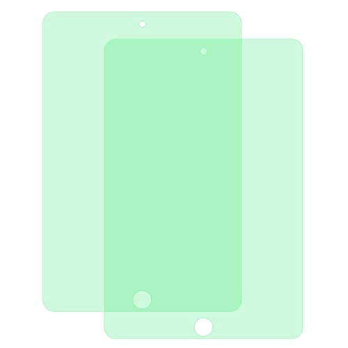 Screen Protector For IPad Mini 3 & 2 2 PCS 9H 2.5D Eye Protection Green Light Explosion-proof Tempered Glass Film hangma