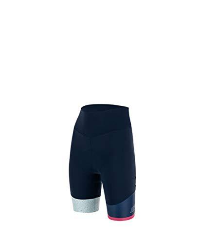 Santini Fahrradbekleidung für Damen, Sommer-Shorts mit Jade und Hip, BLU NAUTICA, L