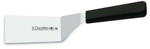 3Claveles 1243 - Espatula curvada recta, 5 x 10 cm