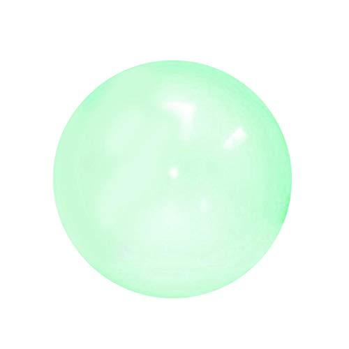 Bola de parachoques inflable Bola transparente de la burbuja de la playa del juguete inflable de gran tamaño de la bola llena de Globo de agua de bola para decoración de fiesta de verano de piscina