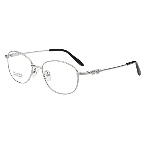 Hombres Mujeres Gafas De Lectura Gafas De Sol Inteligentes Fotocromáticas Marco De Metal Ligero Lector De Bisagra De Resorte Gafas De Interior Al Aire Libre,Plata,+1.50