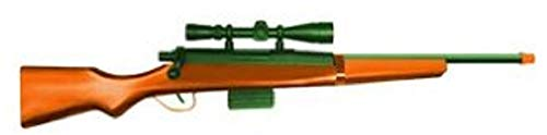 """270 Hunting Replica 28"""" Bolt Action Wood Rifle Toy Fake Gun Weapon with Bullets Orange and Green California Compliant"""