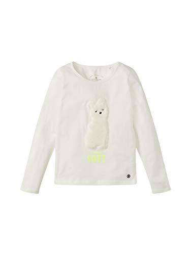 Tom Tailor Langarmshirt Camiseta, Bailarina de la Nube | Blanco, 92/98 para Bebés