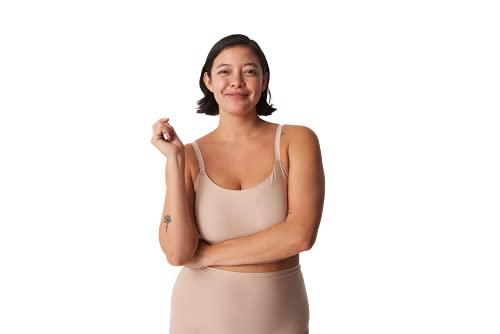 Chantelle DE Damen Soft Stretch Bustier,, per pack Beige (Nude WU), 36 (Herstellergröße: XS/S)
