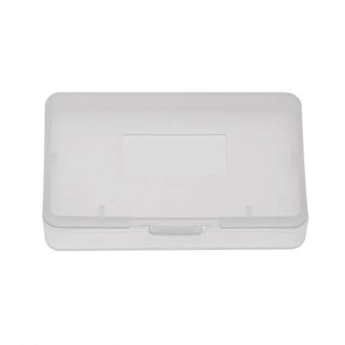 10pcs boîte de boîtier de jeu, boîte de boîtier de jeu de cartouche anti-poussière transparente pour Game Boy Advance GBA boîte de solution de stockage de support de carte de jeu
