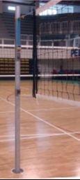 INSTALACIONES VARIOS DEPORTES- Postes para bádminton, tenis y voleibol CUADRADOS