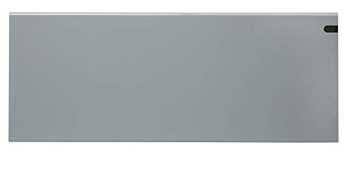 ADAX Neo NP - Radiador eléctrico Moderno, Altura 370mm, 1400W   Anticongelante   KDT Plateado   IP20C
