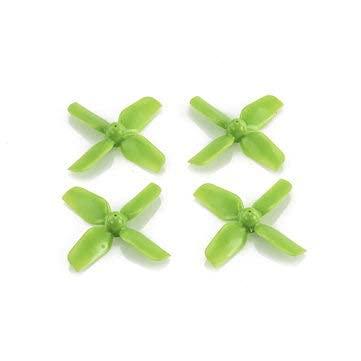 Ellenbogenorthese-LQ Micro Whoop Prop 1.2X4 31Mm 0.8Mm Albero 4-Blade Elica Per Fpv Racing Rc Drone - Verde