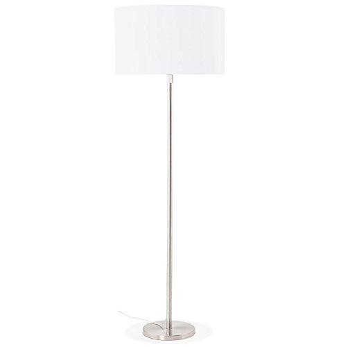 Alterego Lampadaire Design 'Living BIG' Blanc réglable en Hauteur