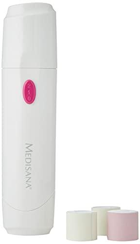 Medisana NP 860 Nagelpolierer elektrisch für Naturnägel, Nagelpflegeset mit 4 Aufsätzen, elektrische Nagelfeile mit 2 Geschwindigkeitsstufen