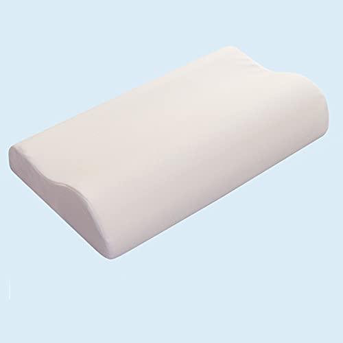BeAUZQ Juego de 2 Almohadas de Espuma viscoelástica, Almohadas cervicales ergonómicas para el Cuello, Soporte de Cuello para la Espalda, Almohadas para Dormir de Lado
