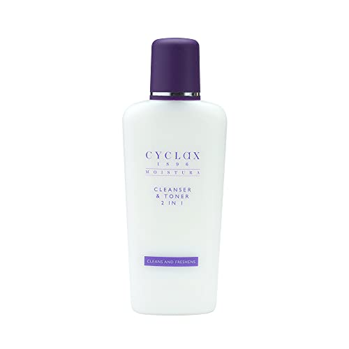 Cyclax Moistura 2 in 1 Cleanser and Toner 200ml