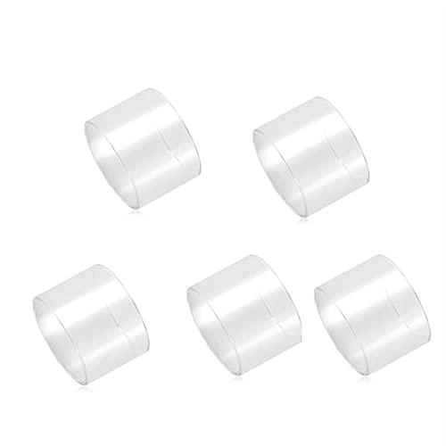 5 stücke Glas Tassen Fit Fit für CUBOX CUBIS 2 Fit für Procore Air 22 25 Fit für plus Widder Evic Fit für VTC Dual Primo Mini Ornate Ego AIO Ego Eco Glasröhre ( Größe : Fit for EVic VTC Dual 4ML )