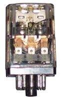 Power Relay, 3PDT, 120 VAC, 5 A, KAP Series, Socket