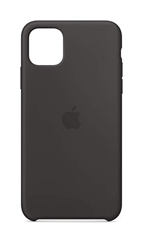 Apple Funda Silicone Case (para el iPhone 11 Pro MAX) - en Negro