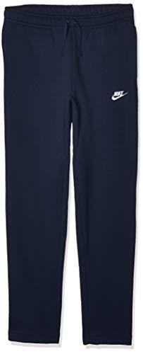 Nike 804408, Pantaloni da Allenamento Uomo, Blu (Obsidian/White), XL