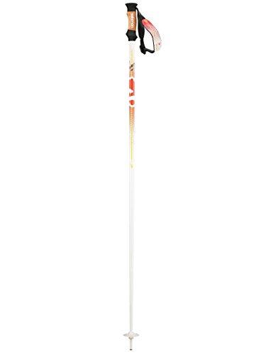 SALOMON BBR 08W Skifahren Pole Einheitsgröße weiß/orange