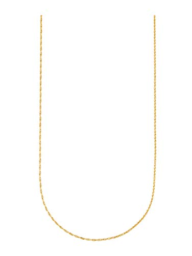 Diemer Gold Unisex Doppelankerkette in Gelbgoldfarben in Gelbgold 585