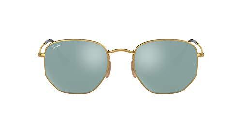 Ray-Ban Rb3548n Gafas de sol, Gold, 51 para Hombre