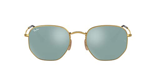 Ray-Ban MOD. 3548N Ray-Ban Sonnenbrille Mod. 3548N Rechteckig Sonnenbrille 51, Gold