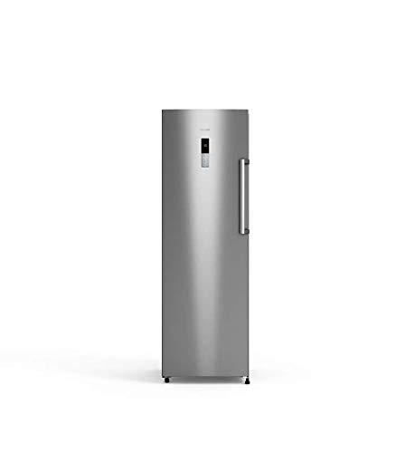 UNIVERSALBLUE | Congelador Vertical No Frost 185 cm|4 cajones Grandes | Eficiencia energética A+ | INOX | Capacidad Total 265 L | Sistema silencioso