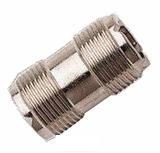 Spartechnik PL-Kupplung: PL Kupplung für PL-Stecker - Verbinder für Antennenkabel PL Stecker PL 259/9 und PL 259/6 - Verbindung Coupling für Seefunk Binnenfunk Funk UKW VHF Antennen - PL Plug