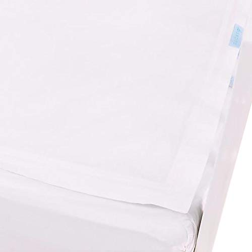 QuickZip Crib Sheet Set, White by Clouds and Stars