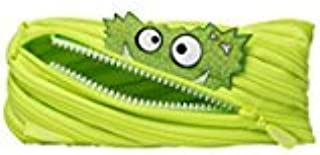 Zipit Talking Monstar Monster Pencil Pouch - Wake Up with the Downloadable ZIPIT App (Neon Green)