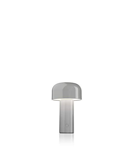 FLOS Bellhop Battery, Policarbonato, Grigio, 12,5 x 21 cm